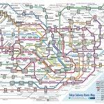 MAP kereta TOKYO